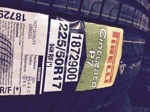 NEW Pirelli Cinturato P7 225/50R17 Summer Tires Runflats. BMW+++