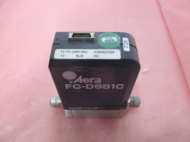 Aera FC-D981SBC Mass Flow Controller, MFC, H2, 10 SLM, 410151-002, 421351