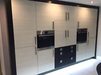 Complete used kitchen - AEG ovens and appliances - granite worktop