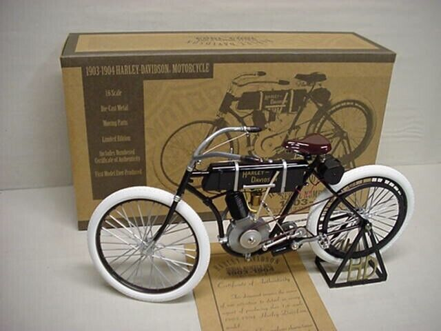 HARLEY DAVIDSON HD 1903 METAL 1/6 SCALE XONEX MOTORCYCLE A REAL BEAUTY RARE S/O
