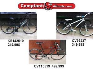 Tous nos vélos sont vérifiés et mise à jour Chez Comptant illimite.com 819-566-3333