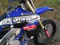 YAMAHA YZF 450 2013 MX MOTOCROSS OFFROAD BIKE