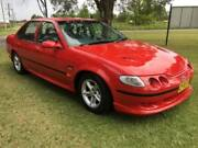 1994 Ford Falcon EF XR6 Red 5 Speed Manual Sedan Tuggerah Wyong Area Preview