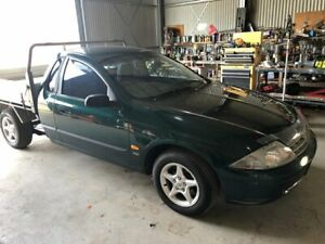 2000 Ford Falcon AU XL Green 5 Speed Manual Utility Applethorpe Southern Downs Preview