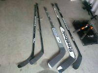 Set de baton hockey sticks ( 2 gardien, 3 joueur)