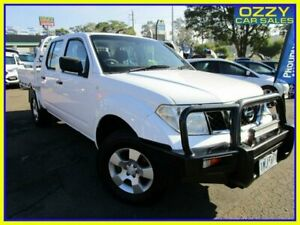 2012 Nissan Navara D40 MY11 RX (4x4) White 6 Speed Manual Dual Cab Pick-up Penrith Penrith Area Preview