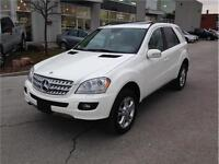 2006 MERCEDES BENZ ML350 4MATIC*WHITE*NAVI*MOON*LOADED*MINT SUV