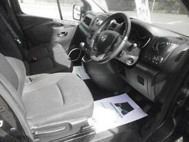 Vauxhall Vivaro L2 2900 1.6Cdti 115Ps Sportive H1 Van DIESEL MANUAL BLACK (2016)