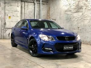 2017 Holden Commodore VF II MY17 SV6 Blue 6 Speed Sports Automatic Sedan Mile End South West Torrens Area Preview