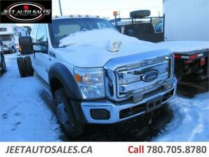 2013 Ford Super Duty F-550 DRW XLT Cab & Chassis