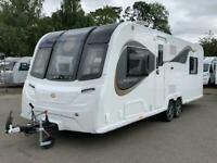 Brand New 2021 Bailey Alicanto Grande Porto Caravan, 8ft wide, Fixed Island Bed