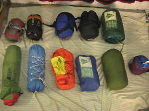 Down Sleeping bags and Accessories