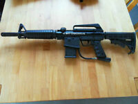 Empire BT Omega Paintball Gun and Empire Helix Mask
