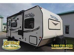 New 2016 Forest River Micro Lite 19 FBS Travel Trailer