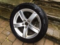 Audi A4 Alloy Rims + Winter Tires - Perelli lightly used