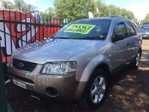 2005 Ford Territory SX TS (4x4) Silver 4 Speed Auto Seq Sportshift Wagon Campbelltown Campbelltown Area Preview