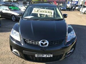 2007 Mazda CX-7 ER Luxury (4x4) Black 6 Speed Auto Activematic Wagon Lansvale Liverpool Area Preview