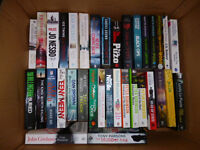 BOOKS, MAINLY THRILLERS, OVER 70