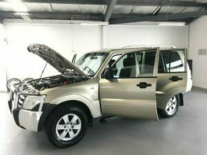 2007 Mitsubishi Pajero NS GLX Gold 5 Speed Sports Automatic Wagon Frankston Frankston Area Preview