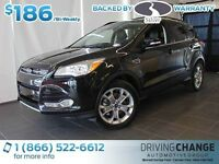 2013 Ford Escape SEL-Moon Roof-Nav-Auto Park System
