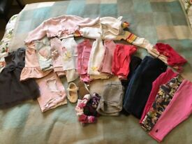 Ted Baker / Ralph Lauren etc and high street girls clothes bundle 1-2 years / 12-24 months