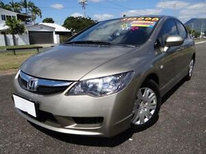 2009 Honda Civic MY09 VTi Gold 5 Speed Manual Sedan Bungalow Cairns City Preview