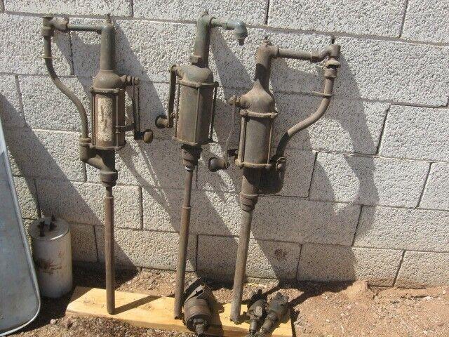 drum mounted hand oil pump