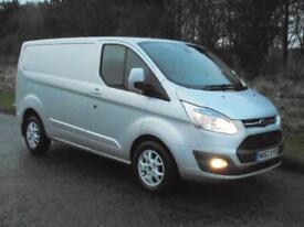 FORD TRANSIT CUSTOM LIMITED 125, 2013(63) MET SILVER, READY TO GO, FINANCE??