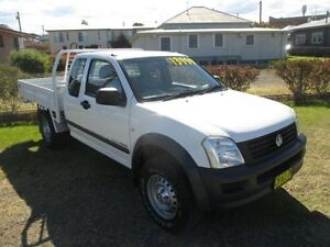2008 Holden Rodeo RA MY08 LX Space Cab White 5 Speed Manual Cab Chassis Macksville Nambucca Area Preview