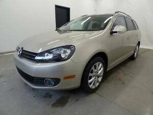2012 VOLKSWAGEN GOLF TDI WAGON COMFORTLINE (AUTOMATIQUE, FULL!!)