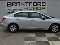 2012 Honda Civic LX $65.64 Per Week*