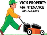 LAWN CUTTING / GARBAGE REMOVAL