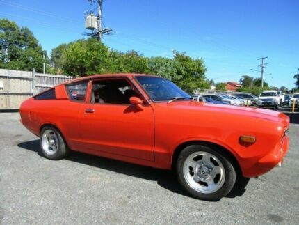 1977 Datsun 120Y Orange 4 Speed Manual 2-Door Coupe