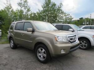 EASY FINANCING!!! 2011 Honda Pilot EX-L DVD , LEATHER , 4X4