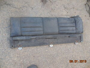 MG MGB MGBGT FACTORY REAR SEAT BACK