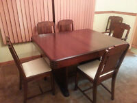 1940's Refinished Dining Set