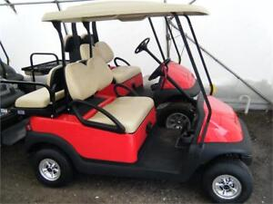 2013 Club Car Precedent Gas with OEM New Painted Body