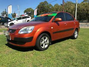 2006 Kia Rio JB EX Orange 5 Speed Manual Sedan Clontarf Redcliffe Area Preview