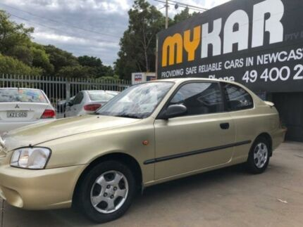 2001 Hyundai Accent LC GL Champagne 4 Speed Automatic Hatchback