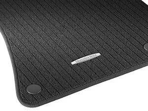 Genuine mercedes benz floor mats e class 2009 2013 black for Mercedes benz e350 floor mats