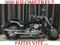2009 MOTO YAMAHA V STAR 650 ***COMME NEUVE-3000 KMS***3995$