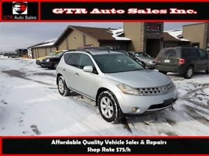 2006 Nissan Murano SL AWD *REMOTE START,BLOCK HEATED,GOOD TIRES*