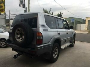 1997 Toyota Landcruiser Prado VZJ95R GXL Silver Manual Wagon Clontarf Redcliffe Area Preview
