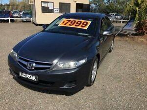 2005 Honda Accord MY06 Upgrade Euro Grey 6 Speed Manual Sedan Penrith Penrith Area Preview