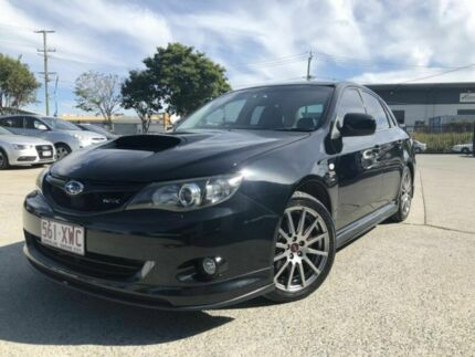 2010 Subaru Impreza MY10 WRX Club Spec 10 Black 5 Speed Manual Sedan Coopers Plains Brisbane South West Preview