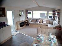 Brand New Family Caravan @ Southerness, Scotland Glasgow, Edinburgh, Ayr, Newcastle, Manchester