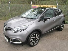 Renault Captur 1.5 Dynamique S MediaNav DCi 90 Energy Turbo Diesel EDC Auto (black) 2014