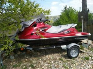 2013 Waverunner VX 1100 Deluxe  and PWC trailer included