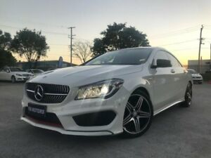 2015 Mercedes-Benz CLA250 117 MY15 4Matic White 7 Speed Automatic Coupe Coopers Plains Brisbane South West Preview