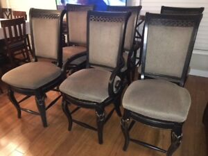 Dining room chairs...solid wood
